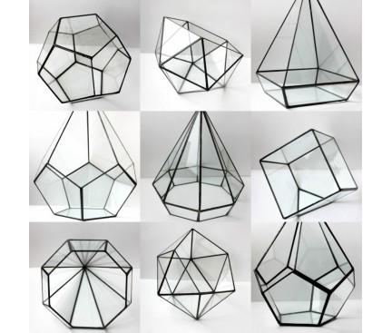 Пустые геометрические флорариумы