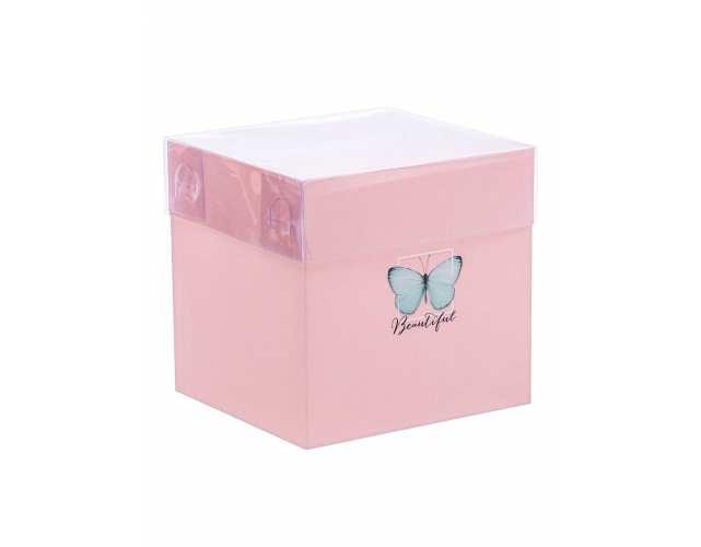 Прозрачная коробка - 12×12×12 см