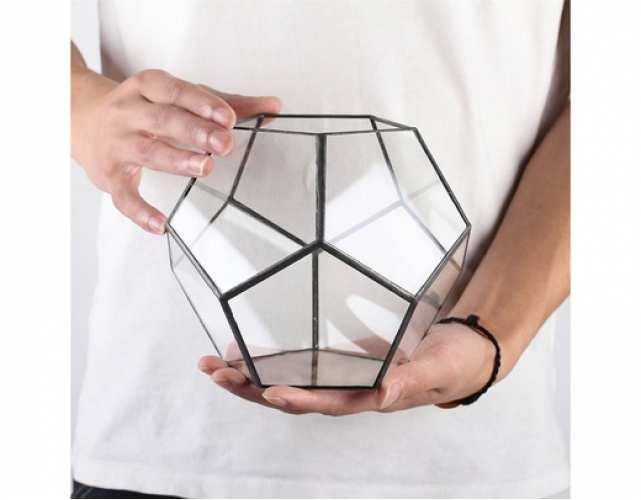 Геометрический флорариум Додекаэдр М  (Пустой )