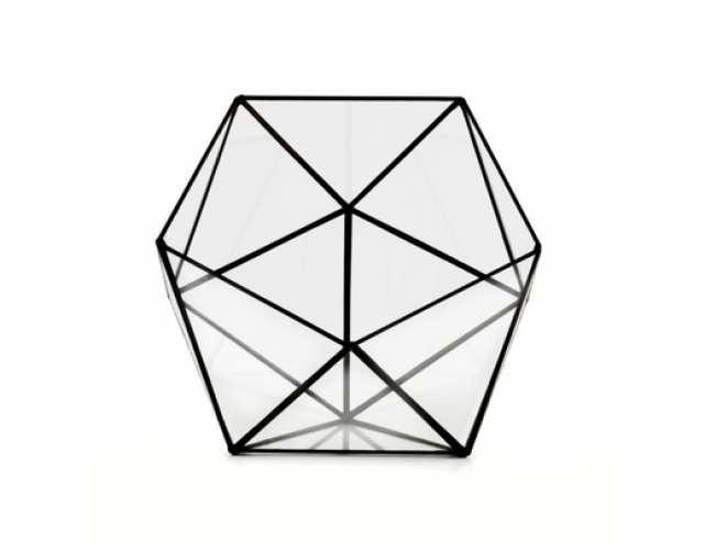 Геометрический флорариум Икосаэдр XL (пустой)