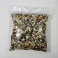 Декоративная крошка трехцветная (натуральные камни) 50мл